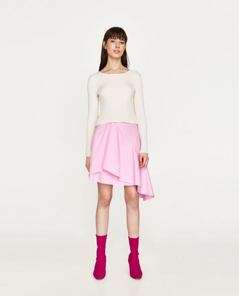 Asymetrická sukně