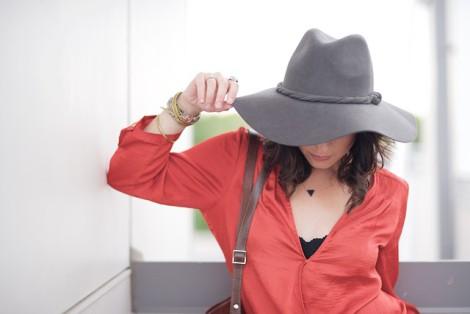 dámský klobouk levně