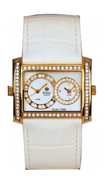 Dámské hodinky s bílým řemínkem