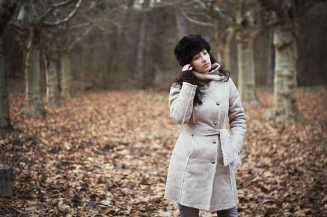 Dámský zimní kabátek