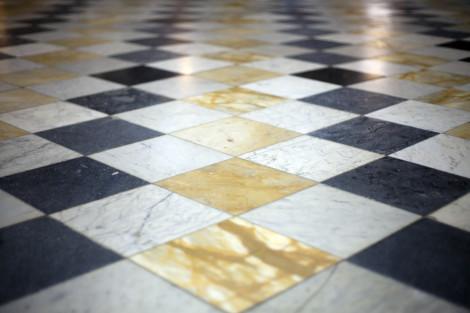 Stará mramorová podlaha