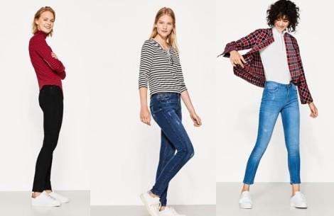 Dámské džíny nabízí tisíce proměn střihů i barev