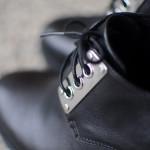 Kožené podzimní boty