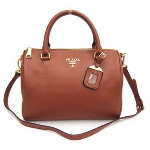 Kožená luxusní kabelka Prada