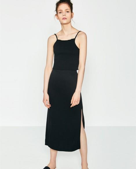 Top s midi sukní