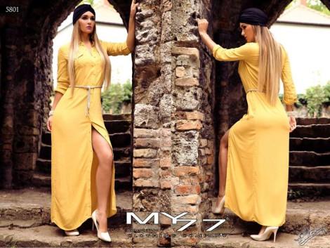 Žluté šaty MY771