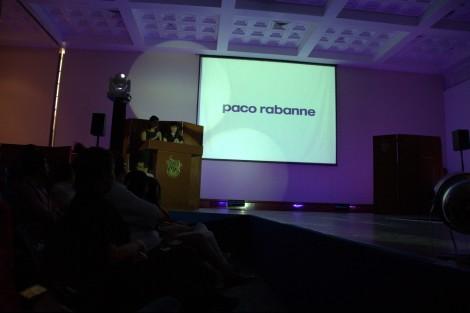 Módní přehlídka Paco Rabanne