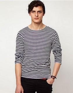 Pruhované námořnické tričko