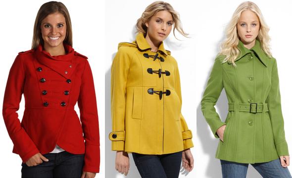 Podzimní bundy, kabáty a trendy pro rok 2012