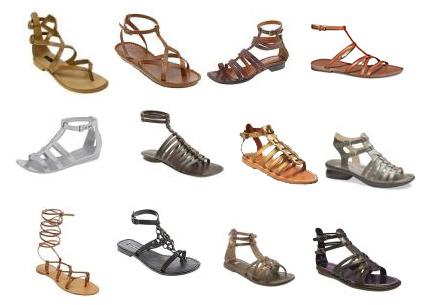 Římské sandále