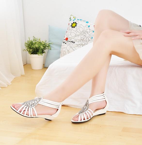 Římské sandály na léto