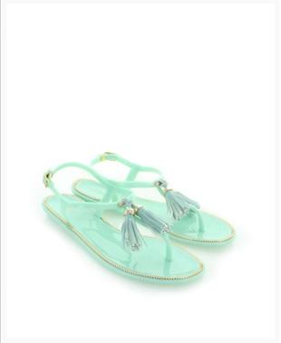 Gumové sandály