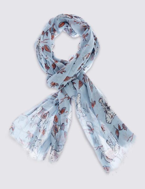 Šátek s potiskem