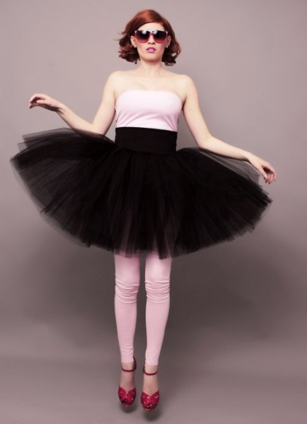 Buďte kouzelná víla nebo rocková královna s tylovou sukní!