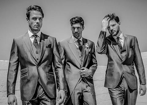 Výběr obleku pro ženicha
