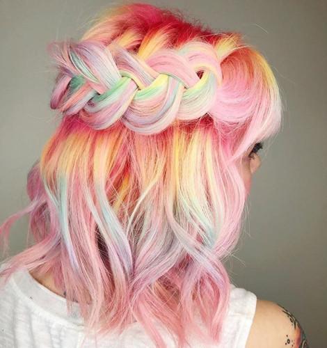 Unicorn vlasy