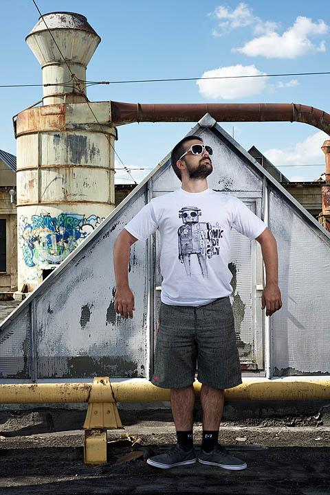 Vtipné tričko Young Primitive