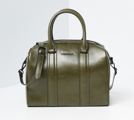 Zelená kabelka do ruky
