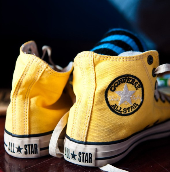 Žluté Converse All Star